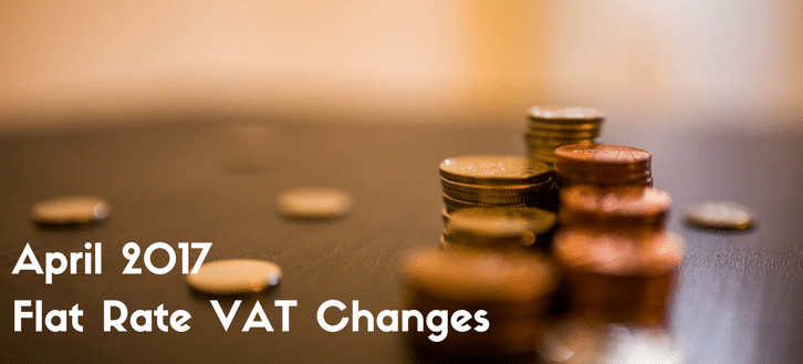 Flat rate VAT changes 2017