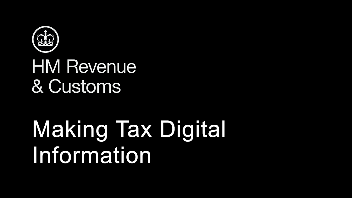 HMRC - Making Tax Digital Information