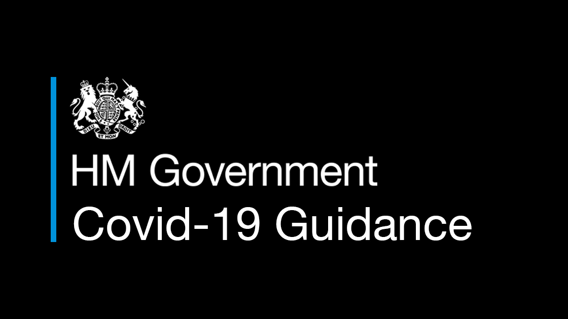 HM Government Covid-19 Guidance
